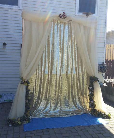 diy wedding arch  pvc pipe