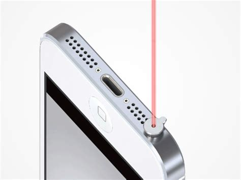 iphone laser pointer ipin laser pointer for iphone stacksocial