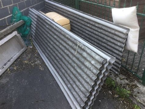 corrugated roof sheets  asbestos  rotherham south