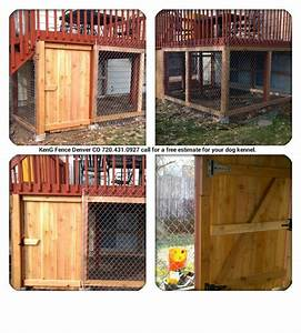 17 best images about outdoor dog area on pinterest for With under deck dog kennel