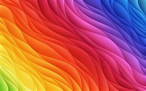Download, Wallpapers, Colorful, Abstract, Waves, 4k, Creative