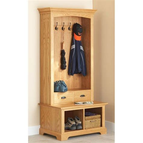diy coat rack bench diy bench coat rack from wood magazine ideas