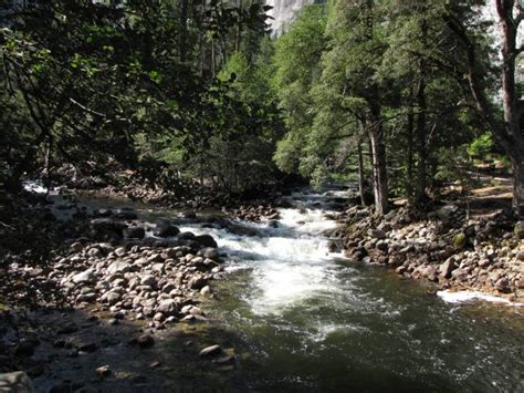 Vernal Fall Yosemite National Park Hiking California