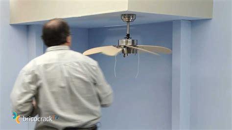 instalar un ventilador de techo bricocrack