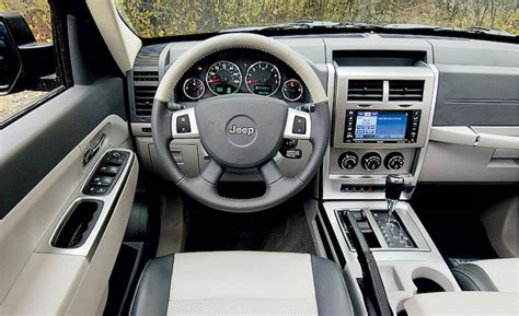 used jeep liberty interior car and driver