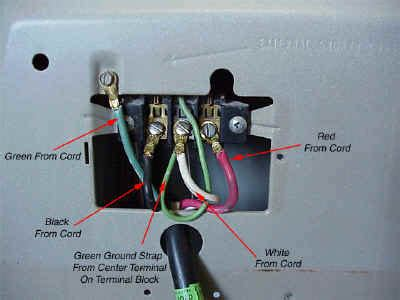 Track Series 2 3 4 Wire fixed maytag dryer change 3 wire to 4 wire