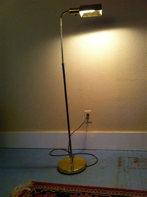 vintage retro floor l vintage floor l desk study reading light antique gold