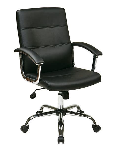 office avenue six malta office chair in black