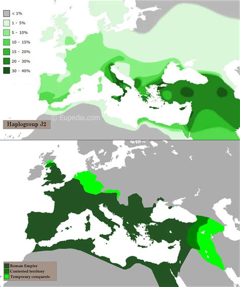 ydna haplogroup   roman empire