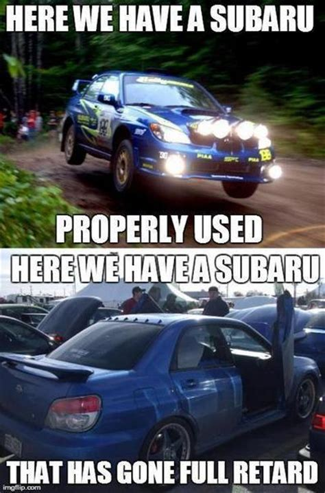 evo subaru meme 18 hilarious subaru memes about japan 39 s greatest export