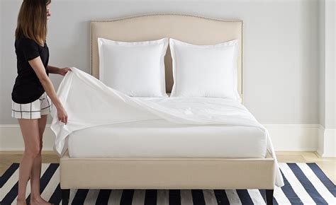 fitted vs flat sheet do you really need both boll branch