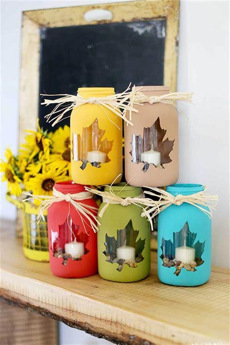 20 unique mason jar craft ideas diy to make