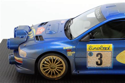 Top Marques Collectibles Subaru Impreza S4 Wrc Mc Rally