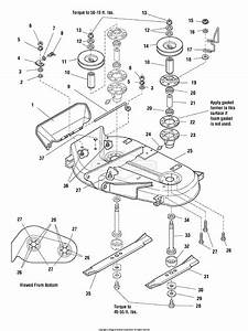 Simplicity 1694036 - 38 U0026quot  Mower Deck Parts Diagram For 38 U0026quot  Mower Deck