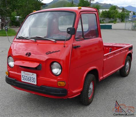 subaru sambar 1969 subaru sambar 39k completely original and fully
