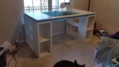ana white craftsewing table diy projects