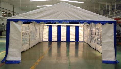 heavy duty canopy 15 x 30 heavy duty white and blue tent canopy