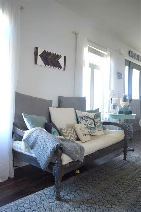 Summer Home Tour, A Coastal And Rustic Bold Mix • Our