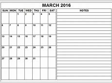 2016 Monthly Printable Calendars » Calendar Template 2018