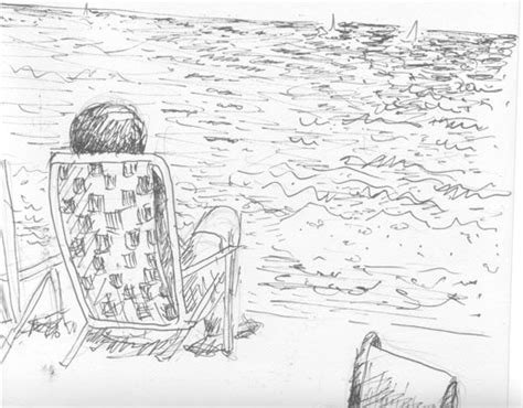 summer stock drawings sketching out