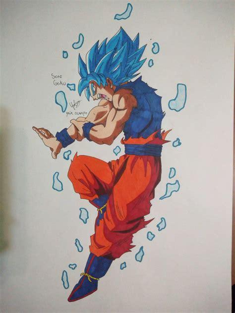 Dibujo De Goku Dibujos Y Animes Amino
