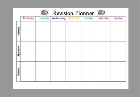 Template Revision Timetable Choice Image Template Design Template Revision Timetable Choice Image Template Design