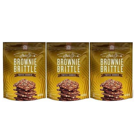 Sheila Gs Brownie Brittle 5oz Bag (3 Pack Toffee Crunch ...