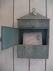 Briefkasten Shabby Chic : vintage briefkasten briefbox utensilo zink mailbox shabby ~ Michelbontemps.com Haus und Dekorationen