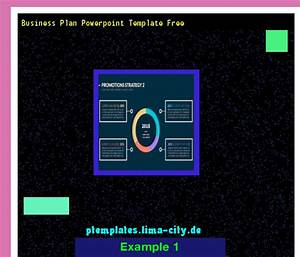 Business Plan Powerpoint Template Free  Powerpoint