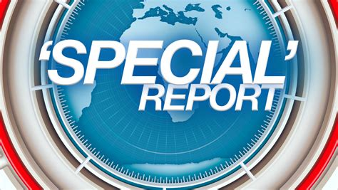 Opinion When 'special Reports' Aren't All That 'special