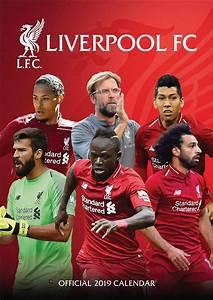 Liverpool FC A3 Calendar 2019 - Calendar Club UK