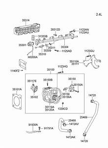 Hyundai Santa Fe Sensor Assembly - Throttle Position