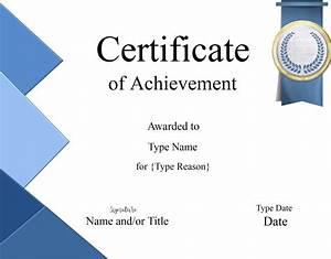 Free Certificate Template Certificate Templates