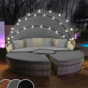 Lounge Insel Outdoor : polyrattan lounge grau storeamore ~ Bigdaddyawards.com Haus und Dekorationen
