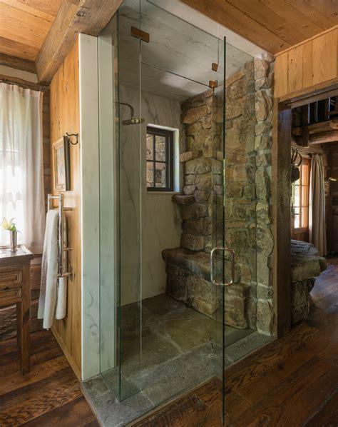 Rustic style bathrooms bathroom rustic with window in