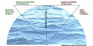 Erdradius Berechnen : wie weit ist der horizont entfernt entfernung in km ~ Themetempest.com Abrechnung