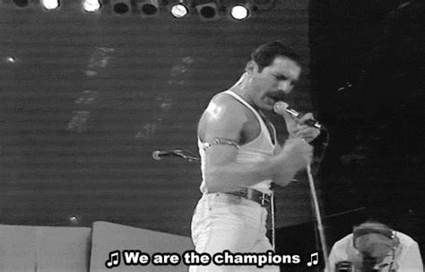 We Are The Champions Gifs