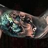 Tattoo by Arlo DiCristina | Full sleeve tattoos, Full ...