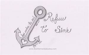 Hope Anchors The Soul! (Heb. 6:19) REFUSE TO SINK... Stay ...