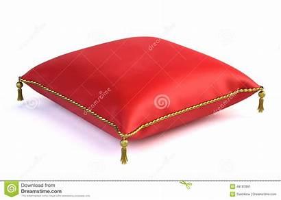 Pillow Royal Velvet Velluto Reale Cuscino Rosso