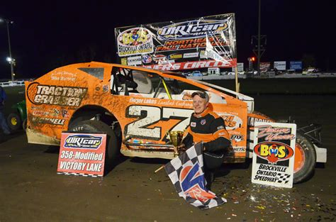 Danny Johnson Powers To Dirtcar 358-modified Series