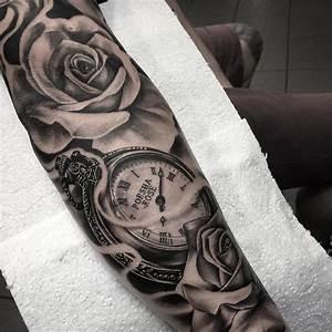 Tatouage Montre A Gousset Avant Bras : quel tatouage bras homme est fait pour vous 50 id es en styles vari s id es de tatouages ~ Carolinahurricanesstore.com Idées de Décoration