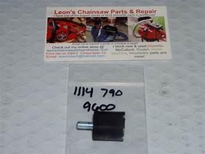 Nos Stihl 010av  011av  012av  020av Chainsaw Vibration Isolator Mount 1114 7908 9600