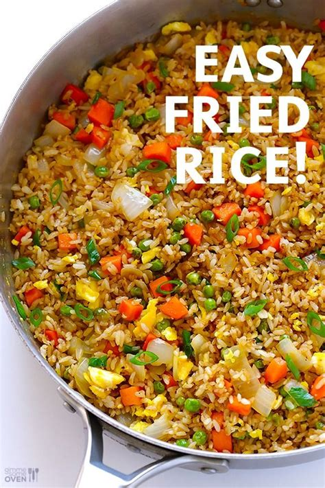 The key to washing and rinsing rice is to be quick and gentle. How To Make Fried Rice: This is seriously the easiest way to make fried rice for dinner. - the ...