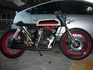 Modification Motors Sport Honda CB 100 1974 Modifikasi