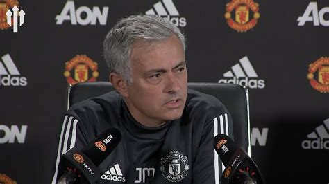 Jose Mourinho Press Conference Liverpool Vs Manchester
