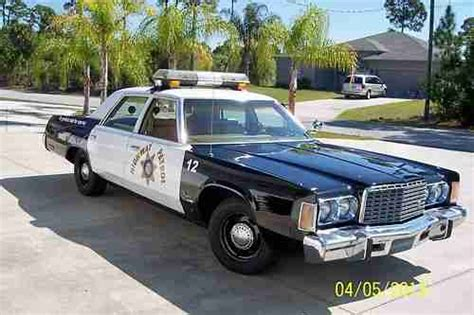 chrysler newport police car antique police vehicles