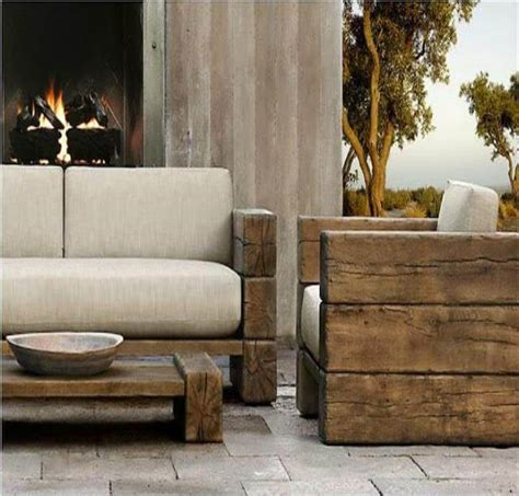 rustic outdoor sofa pallet projects for an organized outdoor Rustic Outdoor Sofa