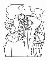 Dalmatians Coloring Disney 101 Pages Cruella Vil Villains Sheets Deville Dalmatian Villain Printable Characters Colors Outlines Colouring Adult Colouringdisney Christmas sketch template
