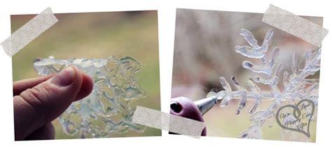 glue gun snowflake tutorial  create